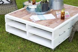 Lift top mechanism and aluminum legs are adding up to this table. 13 Diy Outdoor Side And Coffee Tables Shelterness