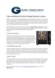 Most Profitable Vending Machines Interesting Tips On Finding The Perfect Vending Machine Location