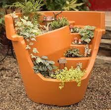 broken pot garden flower pots outdoor