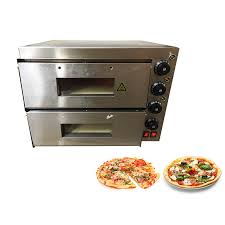 details about commercial bread making machines double pizza oven electric counter stone deck