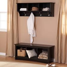 Coat Rack Cabinet Mudroom Entry Table Decor Entryway Closet Bench Shoe Storage For 88