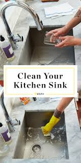 How To Clean Your Kitchen Sink Kitchn