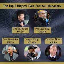 World riches coch / who is the reachest coach in the world. The Top 5 Highest Paid Football Managers Ligalive