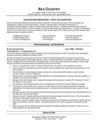 Senior Accountant Resume Sample Job Accounting Accountant