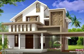 single bedroom medium size modern single bedroom box type house plan home architecture low budget kerala