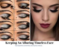keeping an alluring timeless face makeup
