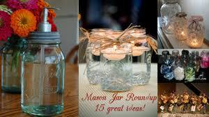 Decorations Using Mason Jars Mason Jar Roundup 100 Top Ideas Pink Polka Dot Creations 5