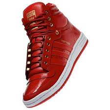 adidas top ten hi red patent leather available now only 90 theshoegame com