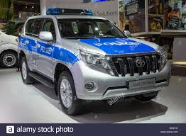 HANNOVER, GERMANY - SEP 21, 2016: German Police Toyota Land ...