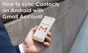 how to sync contacts on android with