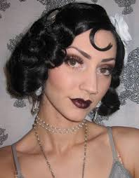 1920 s flapper makeup costume look bash pictures