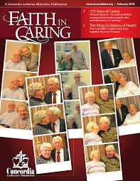 faith in caring by concordia lutheran ministries issuu faith in caring feb 16