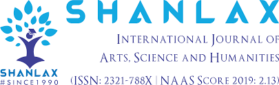 Shanlax International Journal Of Arts Science And Humanities