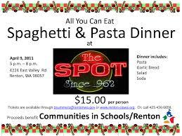 and spaghetti fundraiser tickets clipart clipart kid back gallery for spaghetti fundraiser clipart