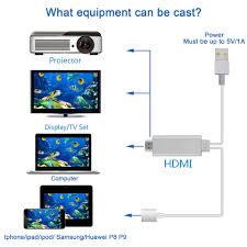 lightning digital av adapter phetron plug and play lightning mhl to hdmi high sd