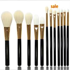professional pro make up brushes set eye shadow brush foundation blusher kabuki super soft goat hair makeup brush 12pcs 7pcs 5pcs