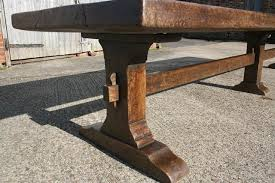 Trestle table with bench Farmhouse Table Tressel Table 17th Century Style Trestle Table Trestle Table Antique Trestle Table Homes Tables Tressel Table 17th Century Style Trestle Table Trestle Table