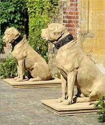 cavendish stone dog sculpture dog