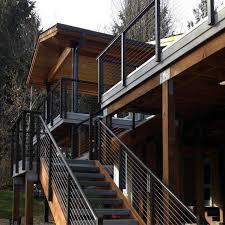 Metal deck railing ideas Stainless Metal Deck Railing Ideas Next Luxury Top 50 Best Metal Deck Railing Ideas Backyard Designs