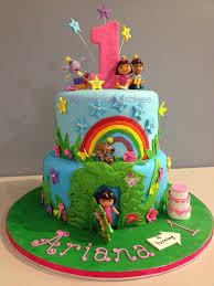 Confections Cakes Creations Dora The Explorer Birthday Cake.