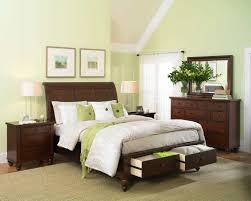 Sleigh Bed Bedroom Set Aspenhome Cambridge Sleigh Storage Bedroom Set In Brown Cherry