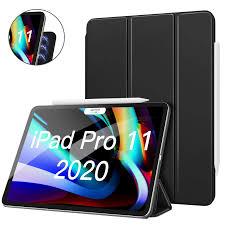 Es ist wie neu und kaum gebraucht. Moko Magnetic Smart Folio Case For Ipad Pro 11 2020 2nd Generation Support Apple Pencil 2 Charging Slim Lightweight Shell Tablets E Books Case Aliexpress