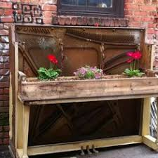 transform a piani into a bar | What to do with old piano?