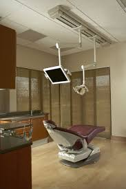 halogen dental light with monitor 2 arm