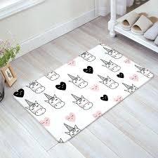 floor bath mat welcome doormat large small inside outside front door carpet rug unicorn pattern with outside front door mats