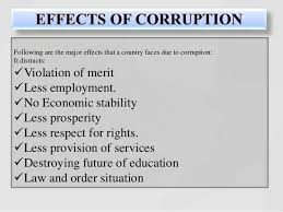 corruption in