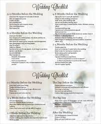 wedding checklist templates sample wedding planning checklist 7 examples in pdf excel