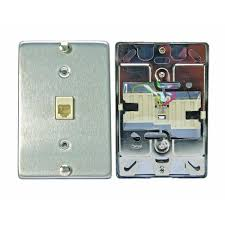 leviton 6p4c stainless steel surface