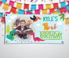 happy birthday customized banners custom party banner