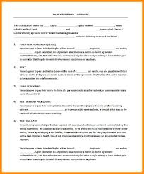 Room For Rent Application Printable Sample Roommate Agreement Form Real Estate Forms
