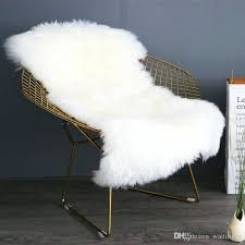 real new beige color sheepskin rug for chair gy sheep skin fur blanket home decoration sofa