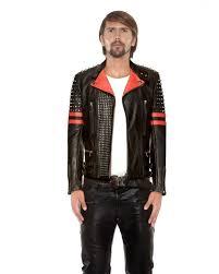 black red studded biker jacket front e1440833371450 2