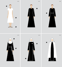 Nun Habit Pattern
