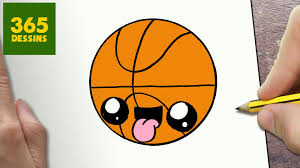 Comment Dessiner Un Ballon De Basket Youtubel
