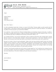 Example Of Education Cover Letters Higher Education Cover Letter Examples