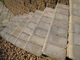 bullnose units are a practical solution for outdoor stair treads