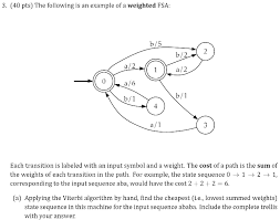 Psa Example Solved 3 40 Pts The Following Is An Example Of A Weigh