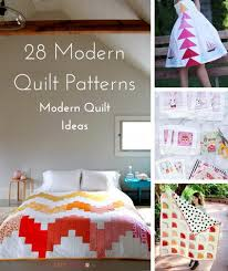 Contemporary Quilt Patterns Gorgeous 48 Modern Quilt Patterns And Modern Quilting Ideas FaveQuilts