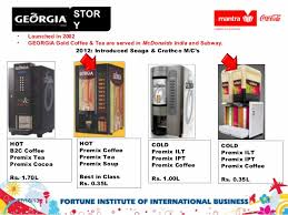 Vending Machines For Sale In Georgia Cool Business Development Of Georgiacoca Cola India Private Limited