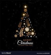 Beautiful Christmas Design Beautiful Christmas Tree Decorative Greeting Card