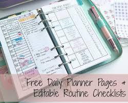 Editable Planner Under Fontanacountryinn Com