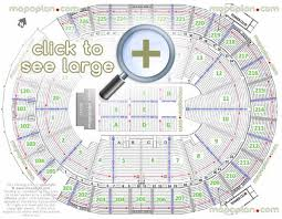 new t mobile arena mgm aeg seat row numbers detailed seating chart