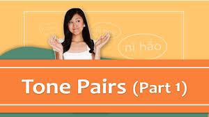 Pinyin Lesson Series 6 Tone Pairs Part 1 Mandarin Chinese Pronunciation Yoyo Chinese