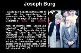 Resultado de imagen para imagenes Joseph G. Burg