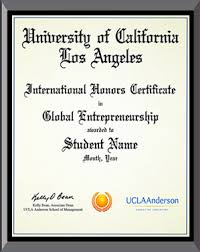 Ucla Anderson Global Entrepreneurship