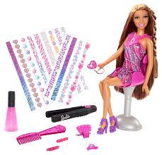 Barbie Hairstyles 17 Amazing BARBIE Hair Tattoos™ Doll African American